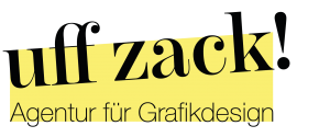 Logo uff zack!fikdesign