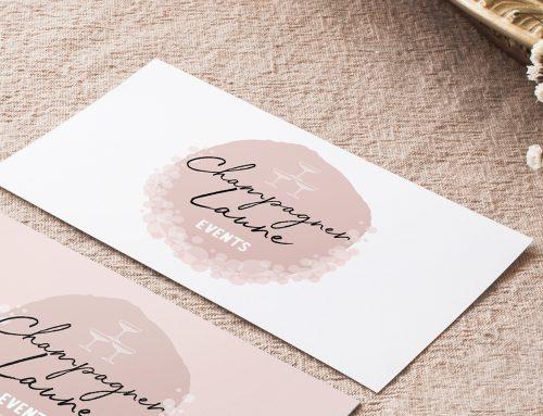 Champagnerlaune Logodesign