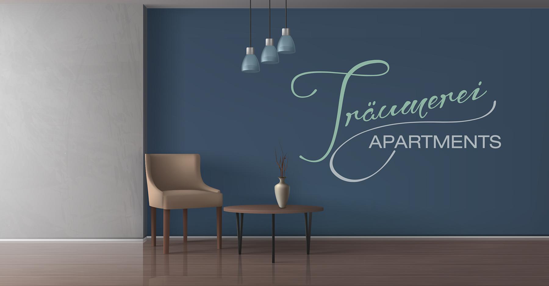 Uff zack Grafikdesign Logodesign für Träumerei Apartments